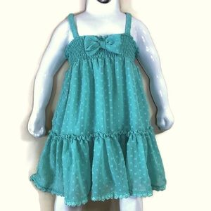 Kate Spade Skirt the Ruled Green Bow Dress set 24m